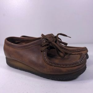 Clarks Originals Wallabees 38257 Leather Shoes